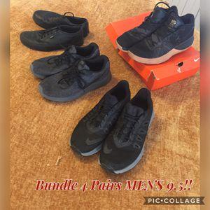 Bundle, 4 pairs men's 9.5 for Sale in Pueblo, CO