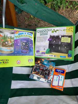 Puzzles and games for kids for Sale in Mechanicsville, VA