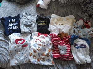 Baby boy clothes lot 0-3 months for Sale in Dallas, TX