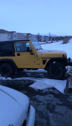 2000 Jeep Wrangler $ 10000 for Sale in Waterman, IL