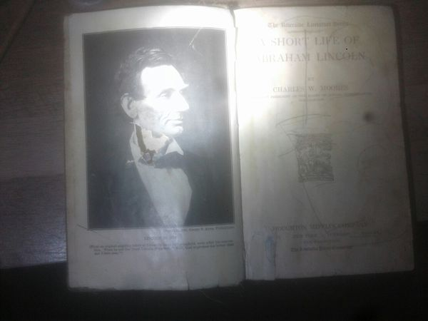 Copyright 1881 the short life of abraham lincoln