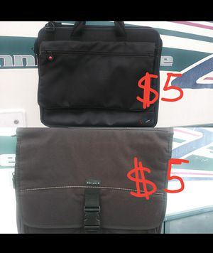 Laptop bags, laptop briefcase $5 each for Sale in Palm Harbor, FL