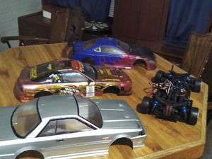Rc drift car with 3 different bodies. for Sale in Tempe, AZ