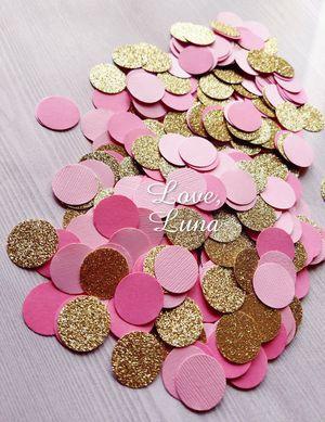 Pink & Gold Circle Confetti for Sale in Chula Vista, CA