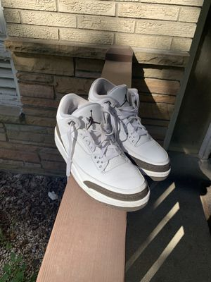 Jordan mocha 3's for Sale in Milwaukee, WI