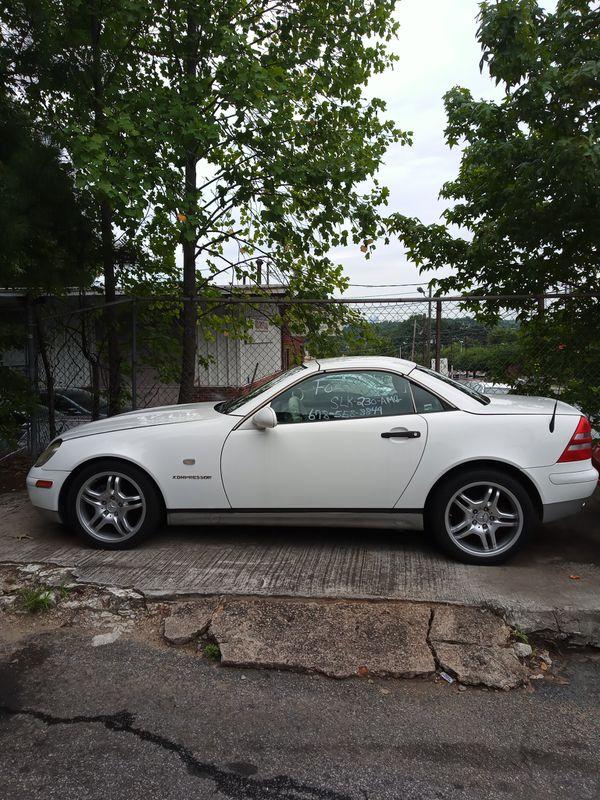 1999 Mercedes Benz slk 230 AMG for Sale in Atlanta, GA - OfferUp