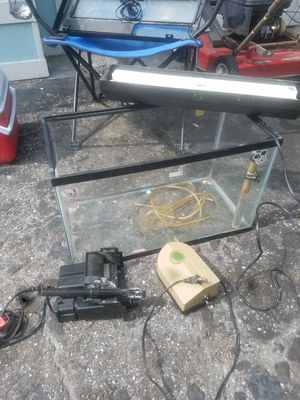 Full aquarium set up for Sale in Seminole, FL