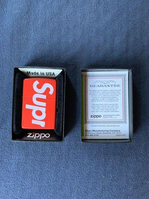 Supreme Zippo Lighter for Sale in Parkton, MD