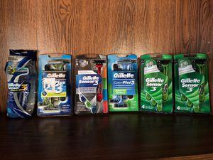 Gillette Razors 6/$25 for Sale in Lodi, CA
