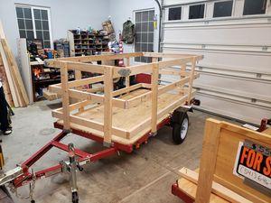 4x8 tilt/folding Utility trailer for Sale in White City, OR