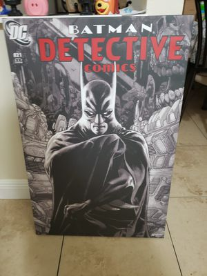Batman Detective Comics Art /painting for Sale in Miami, FL