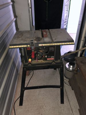 """10"""" Craftsman Table Saw for Sale in Manteca, CA"""