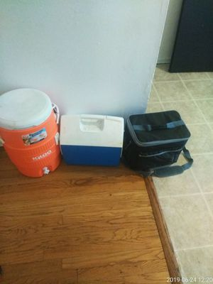 Three nice coolers need washing off for Sale in Bellefontaine Neighbors, MO