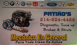 Ago mecanica chekeo gratis boy domicilio for Sale in Garland, TX