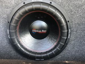 Audio System ! 15 Hard bass for Sale in Merced, CA