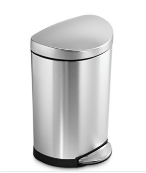 Simple Human Kitchen Stainless Steel Trash Can NEW for Sale in Springfield, VA