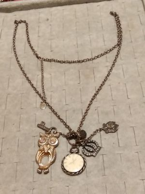 ( Clair's)Long necklace with charms for Sale in Fort Worth, TX