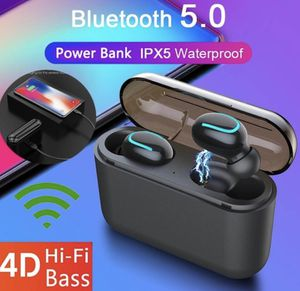 New Wireless Bluetooth 5.0 Earbuds Stereo TWS Bluetooth Headset Sports Stereo In-Ear Earphones Touch Control Headphone with Charging Case for Sale in Goodyear, AZ