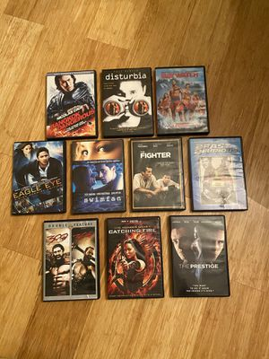 Collection of 10 DVDs for Sale in Wichita, KS