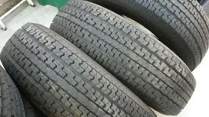 4 like new trailer tires 235/80/16.Goodyear for Sale in Palmdale, CA