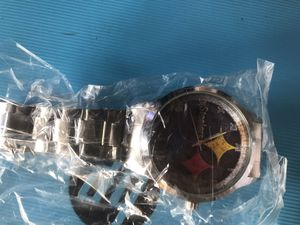 Pittsburg Steelers watch for Sale in Basin, MT