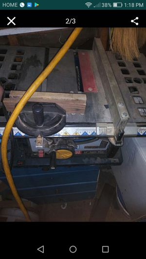 """Table saw 10"""" with stand for Sale in Bakersfield, CA"""