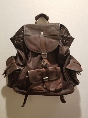 Brown leather bag for Sale in Aliso Viejo, CA