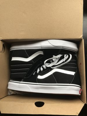 Vans SK8-Hi Black and White for Sale in Houston, TX