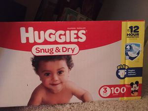 New Huggies diapers for Sale in Mansfield, TX