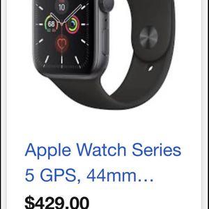 Apple Watch Series 5 44mm GPS Black for Sale in Phoenix, AZ