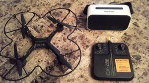 DX-4 Drone with VR Goggles for Sale in Waterford, CT