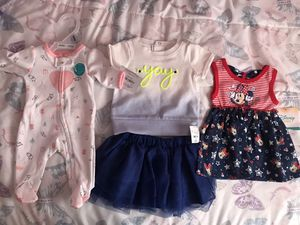 Newborn & 0-3 months baby clothes NEW with tags for Sale in La Vergne, TN