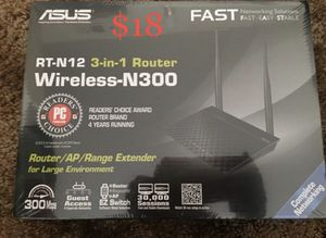 Asus WiFi router. New in box for Sale in Anaheim, CA