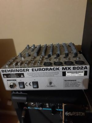 Behringer eurorack Mx 802A $50 obo for Sale in Reedley, CA