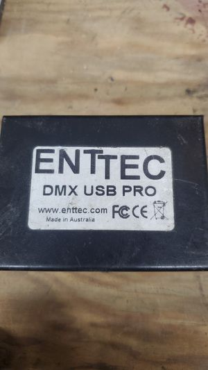 DMX - ENTTEC USB pro - USB to dmx converter for Sale in Ontario, CA