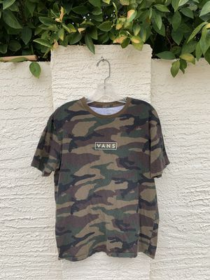 Camo Vans T-shirt (L) for Sale in Chandler, AZ