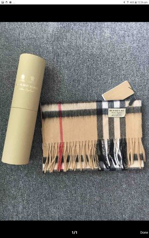 Brand New Burberry Scarf wit Box Never Worn for Sale in Oklahoma City, OK