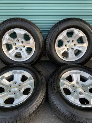 Chevy Silverado Z71 Factory Wheels for Sale in Fontana, CA