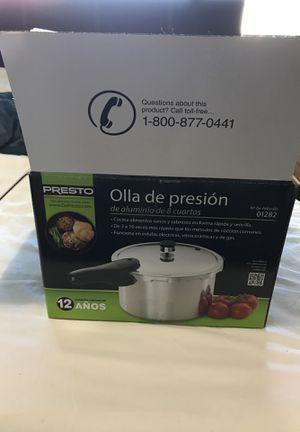 New Presto pressure cooker for Sale in Alexandria, VA