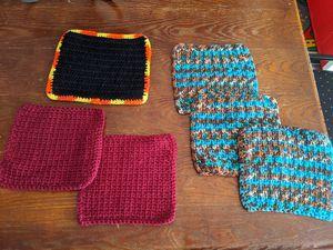 Pot holders (crocheted) for Sale in Chandler, AZ