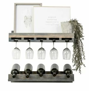 Wall Mounted Wine Glass/Bottle Rack for Sale in Sully Station, VA