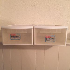 Plastic Drawers for Sale in Burlington, MA
