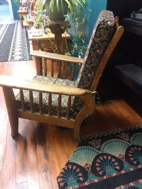 Antique recliner