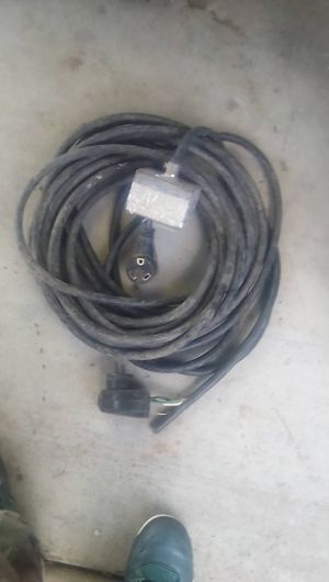 30 amp 75ft cord with 120 plugs for Sale in Tracy, CA
