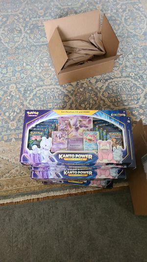 Pokemon XY Evolution Kanto Powers Collection Box for Sale in Chevy Chase, MD