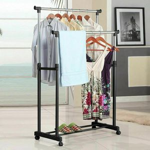 NEW Outdoor Drying Rack Indoor Clothes Hanger Garment Rack for Bedroom Storage area Backyard for Sale in Las Vegas, NV