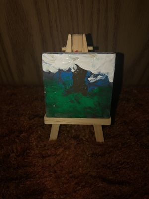If the Clouds Were Trees - Contemporary Micro-Art for Sale in Frankford, MO