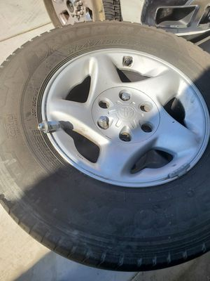 Toyota tire and rims set for Sale in Riverside, CA