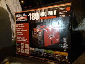 Brand new in box Lincoln welder for Sale in Denver, CO