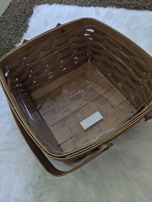 Longaberger cake basket like new for Sale in Carlsbad, CA